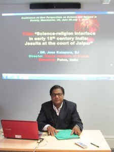 Jose Kalapura presenting paper at Manchester, June 29, 20171